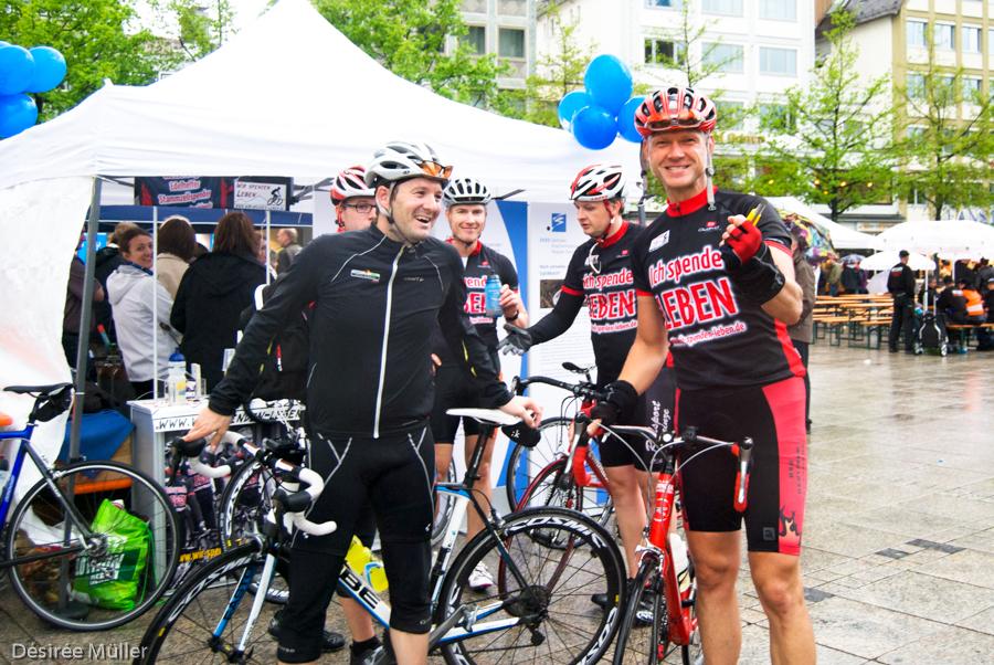 Nach dem ZKRD Charity-Radrennen