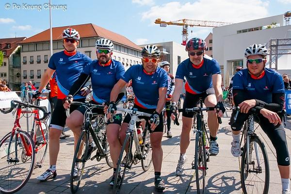 Das WsL-Team: Jörg, Marc, Bodo, Andreas, Tobias (v.l.n.r.) © Po Keung Cheung