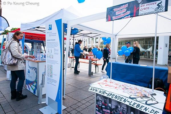 Münsterplatz, Stand des ZKRD © Po Keung Cheung